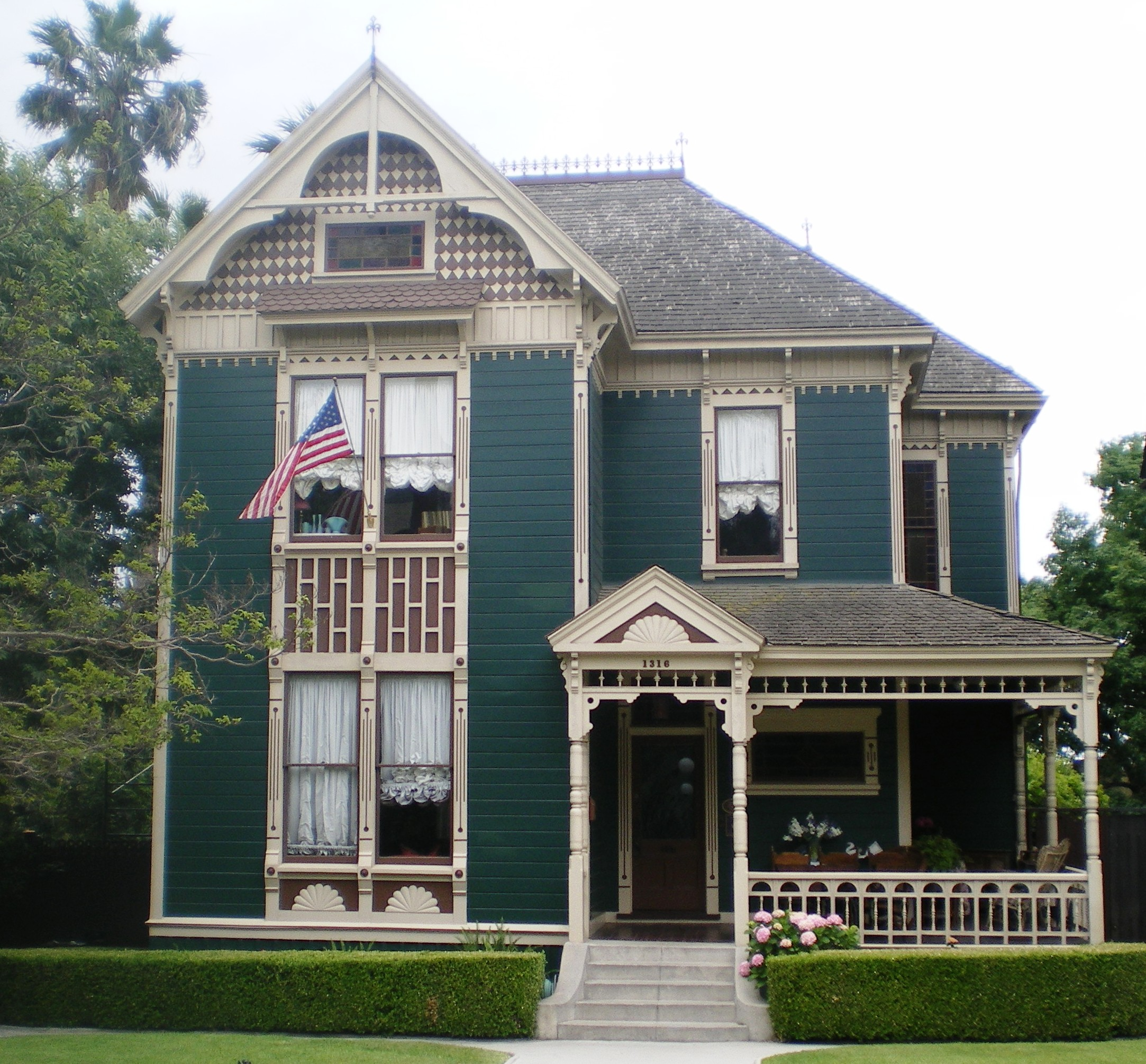 Los Angeles California Homes: File:House At 1316 Carroll Avenue, Los Angeles.JPG