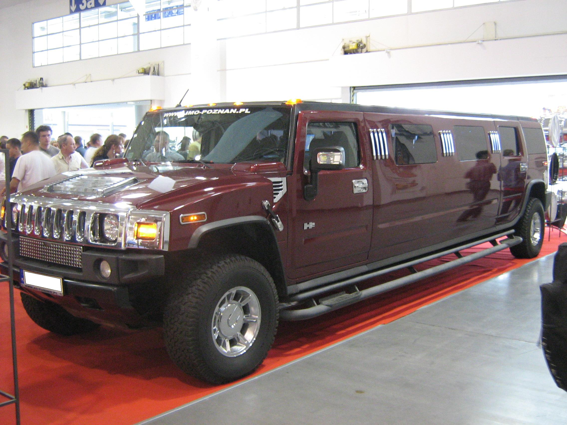 File Hummer H2 Limo Front Psm 2009 Jpg Wikimedia Commons