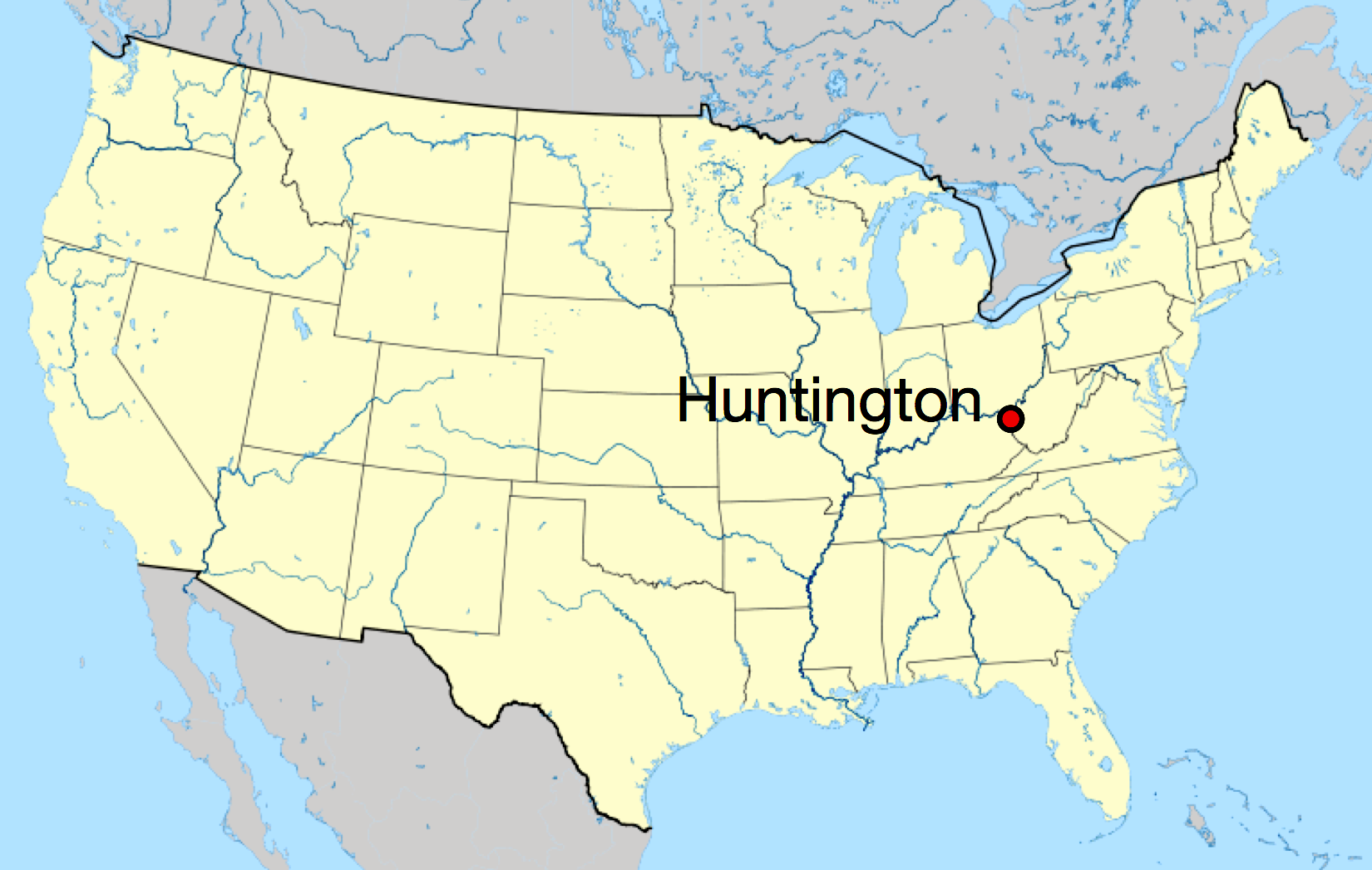 Map Of Huntington And Oyster Bay Long Island