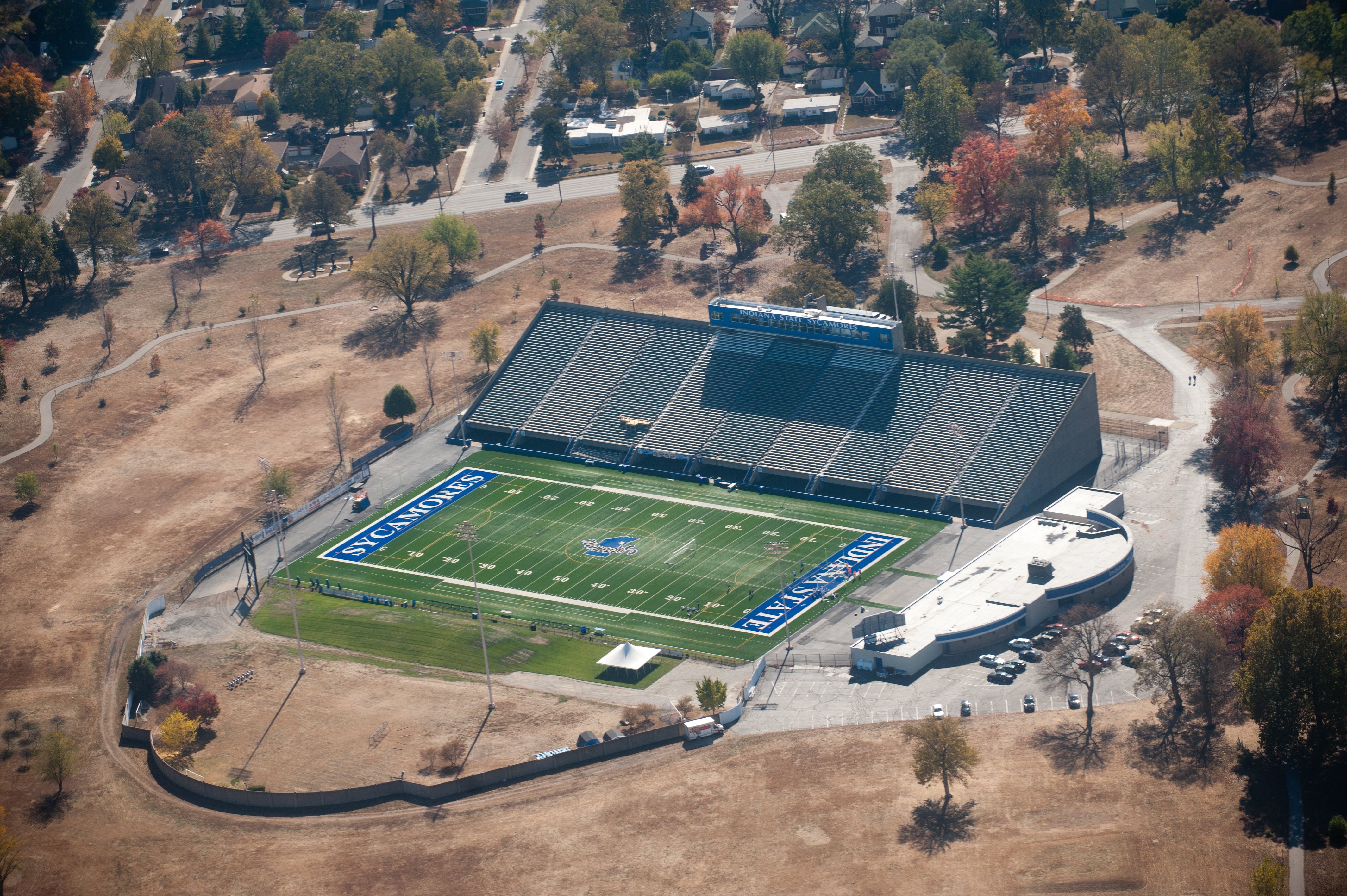 Memorial Stadium Terre Haute Wikipedia