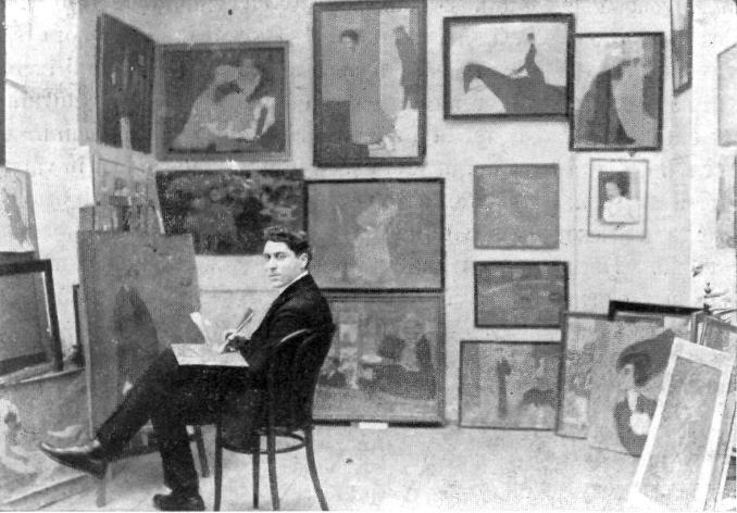 File:Iosif Iser in atelierul sau.jpg - Wikimedia Commons