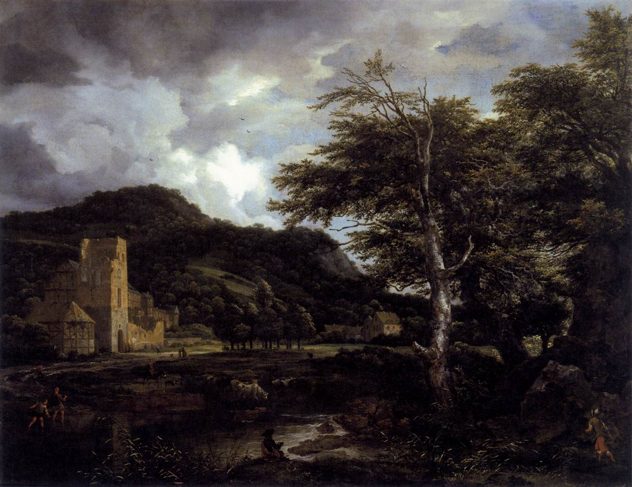 Jacob Isaacksz. van Ruisdael (1628/1629–1682) [Public domain], via Wikimedia Commons