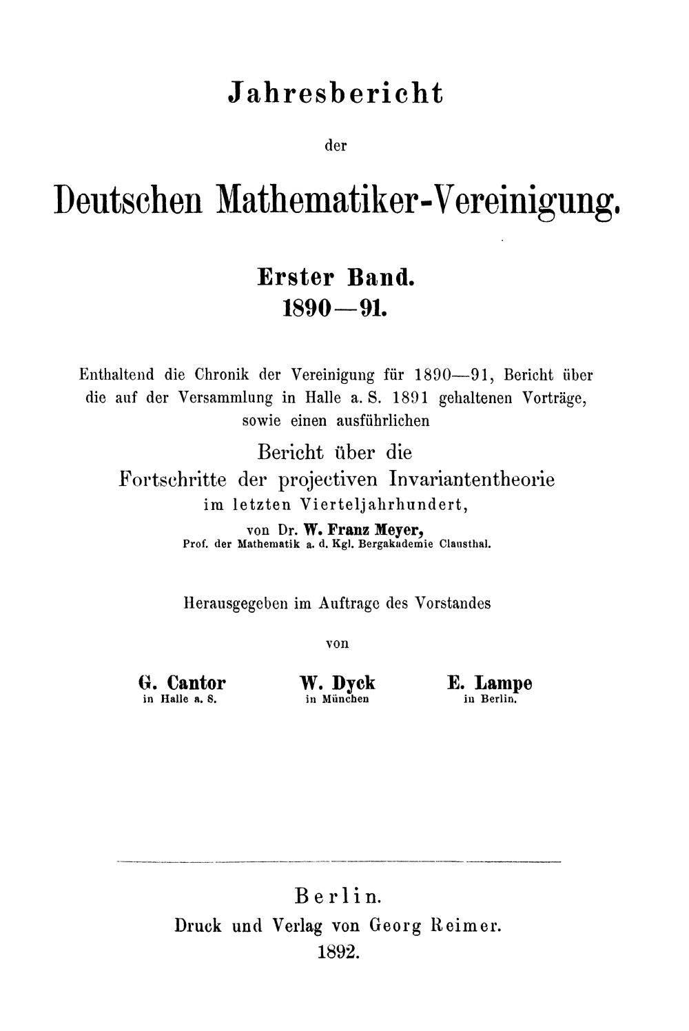 Deutsche Mathematiker-Vereinigung - Wikiwand 72a0c81346fc