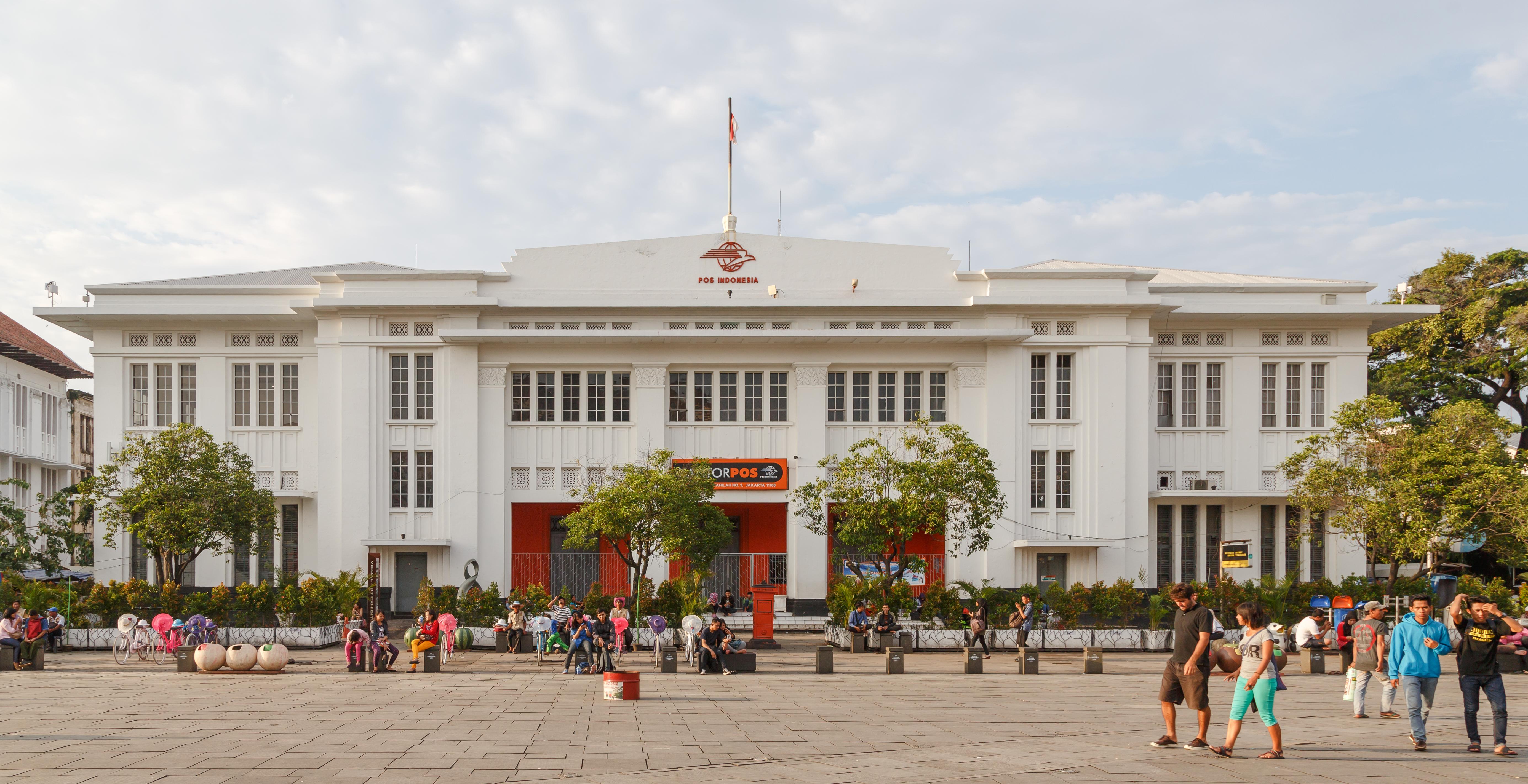 Filejakarta Indonesia Post Office At Fatahillah Square