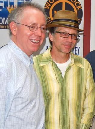 James Schamus (left) and Ron Nyswaner (right) in 2009