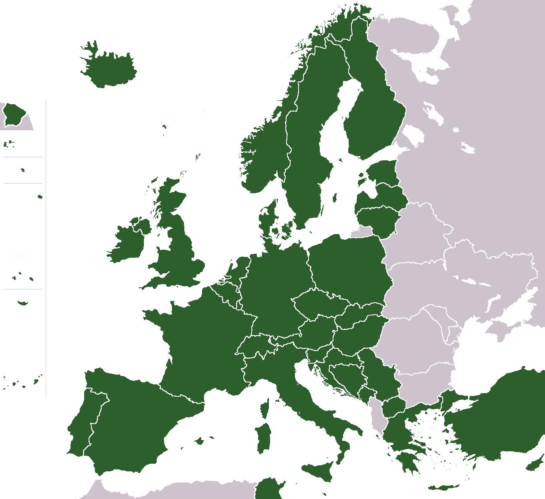 FileJapan Visa Coutries In Europepng Wikimedia Commons - Japan visa map