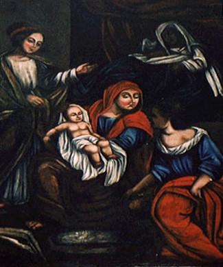 Jesu%C3%ADno do Monte Carmelo - O Nascimento de Maria