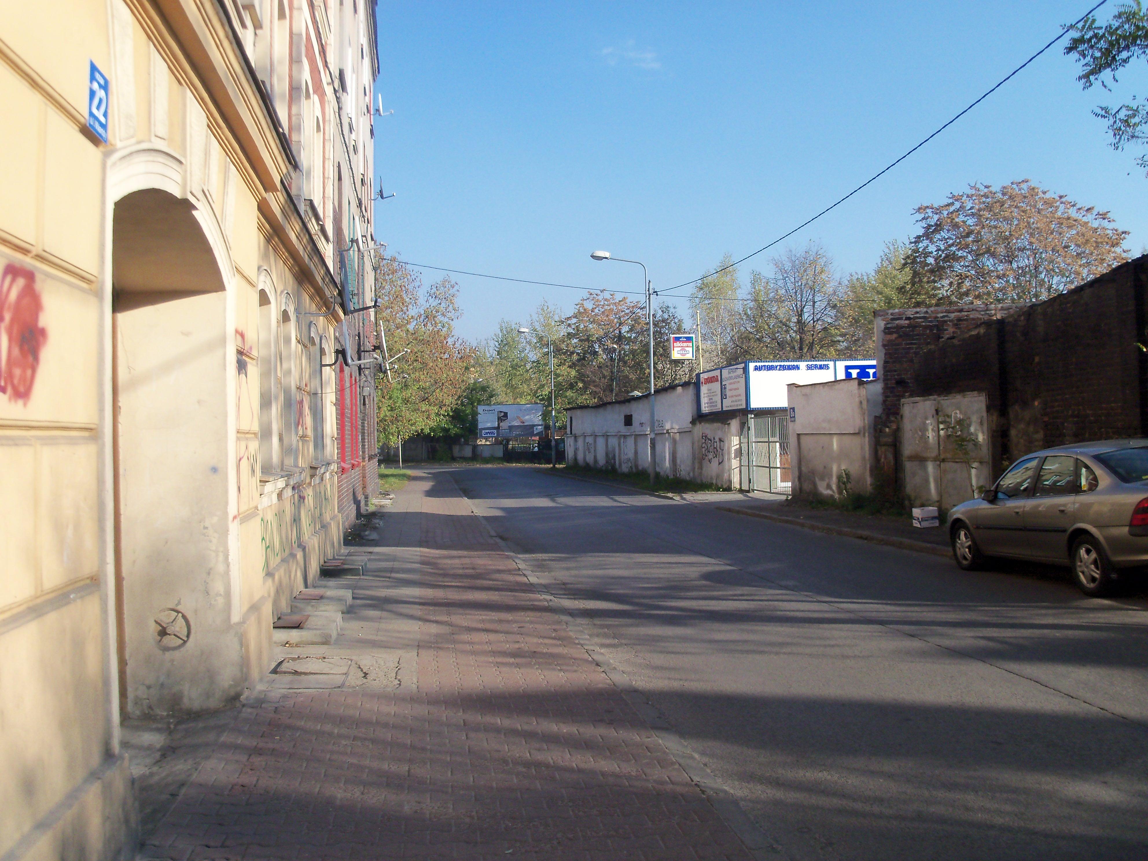 Ulica Wandy w Katowicach