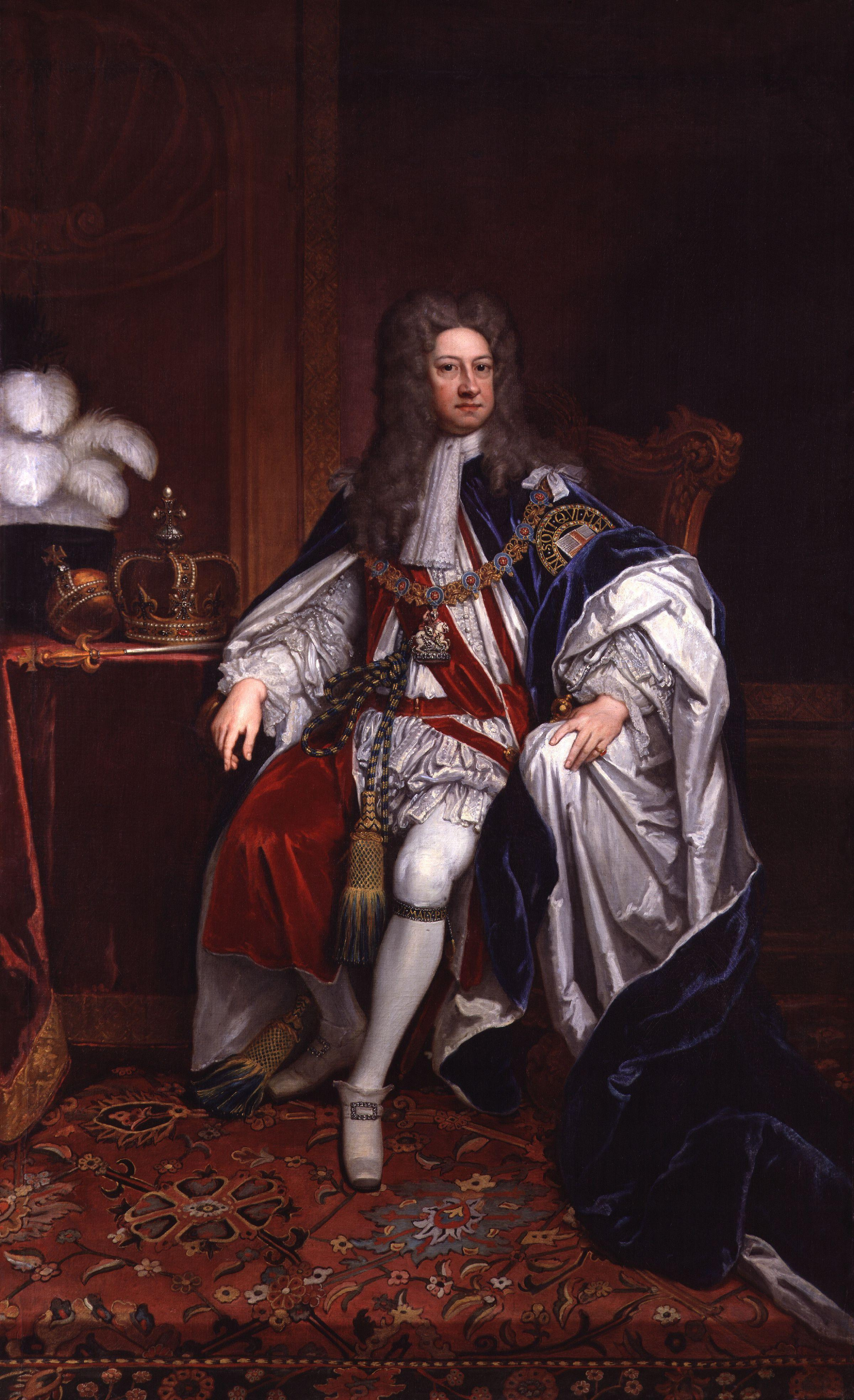 File:King George I by Sir Godfrey Kneller ...