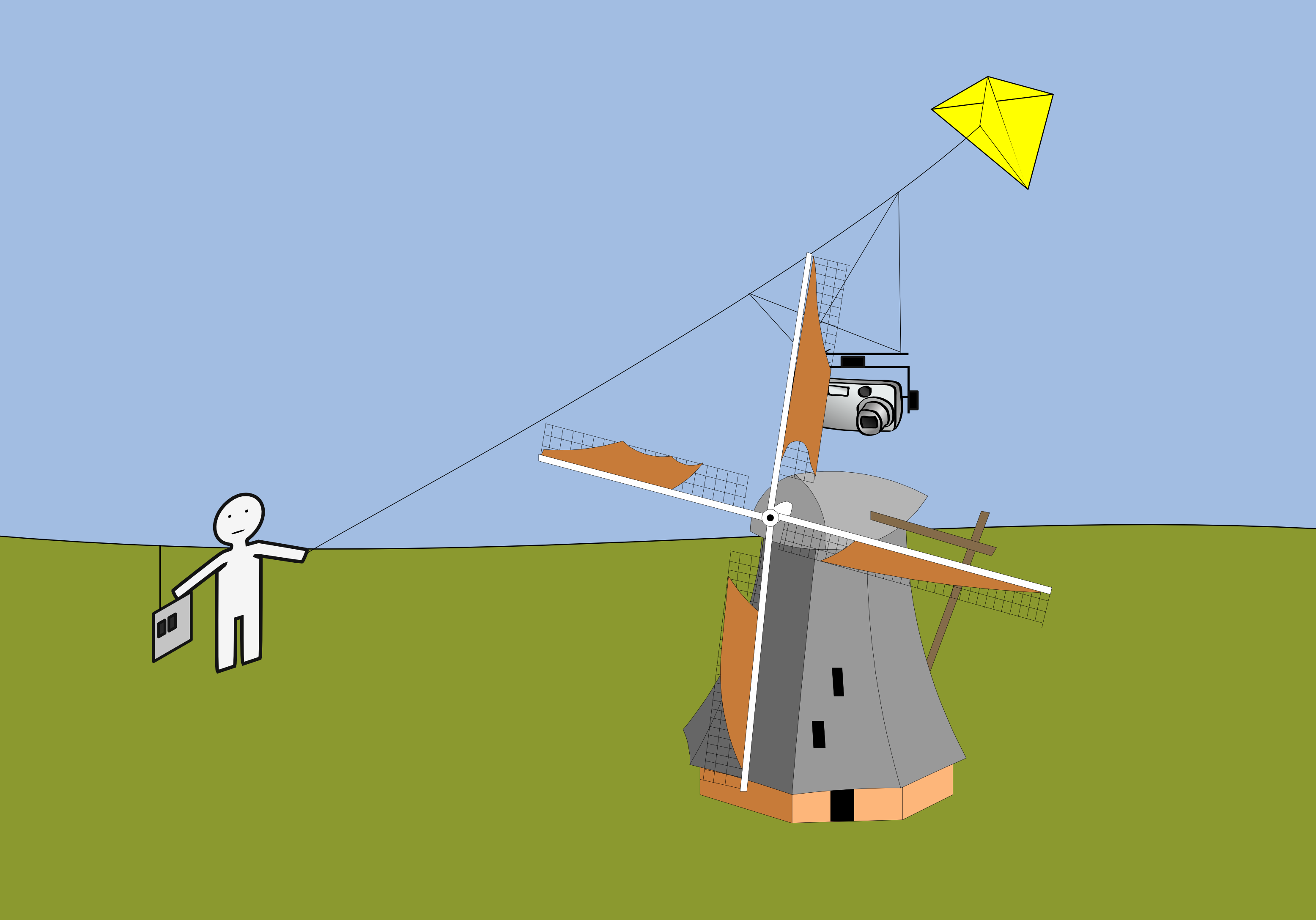 how to fly a power kite