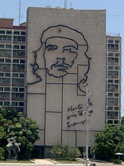 Edificio del Ministerio del Interior en La Habana donde tuvo su sede el Ministerio de Industria bajo la dirección de Ernesto Guevara.