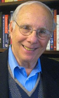 Ruttman in his Brookline, Massachusetts office in 2012