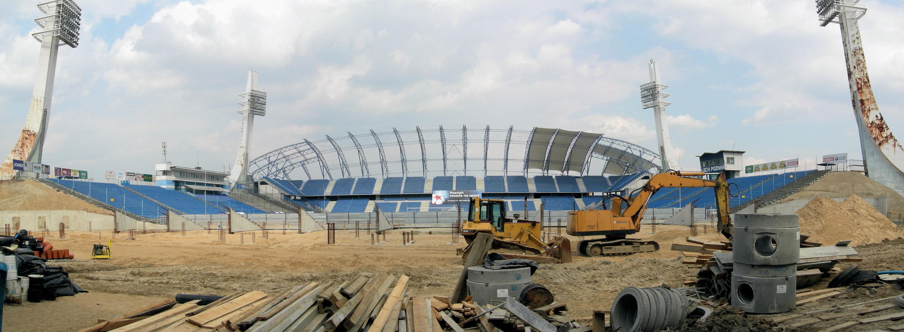 Lech Poznań Wikipedia: ملاعـب كأس الأمم الأوروببة 2012