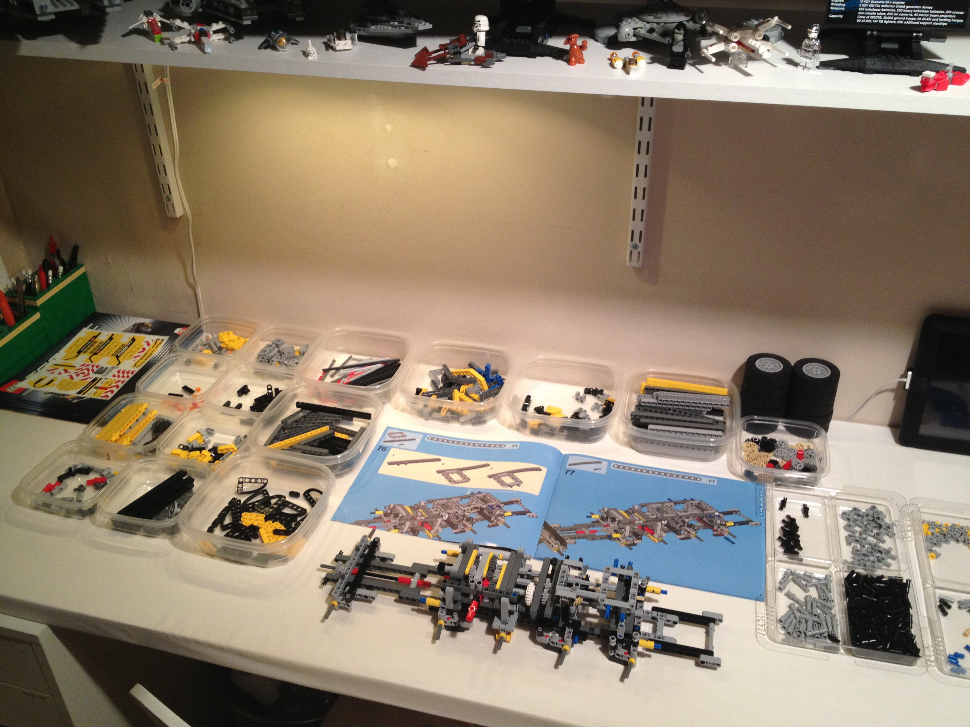 Build A Lego Table With Storage