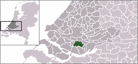 Mijnsheerenland Place in South Holland, Netherlands