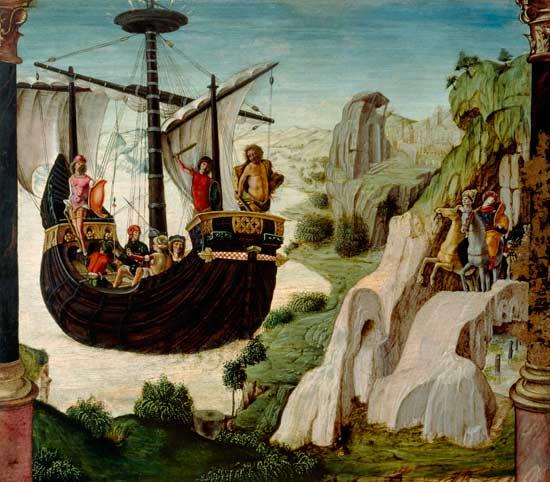 Depiction of Argonautas