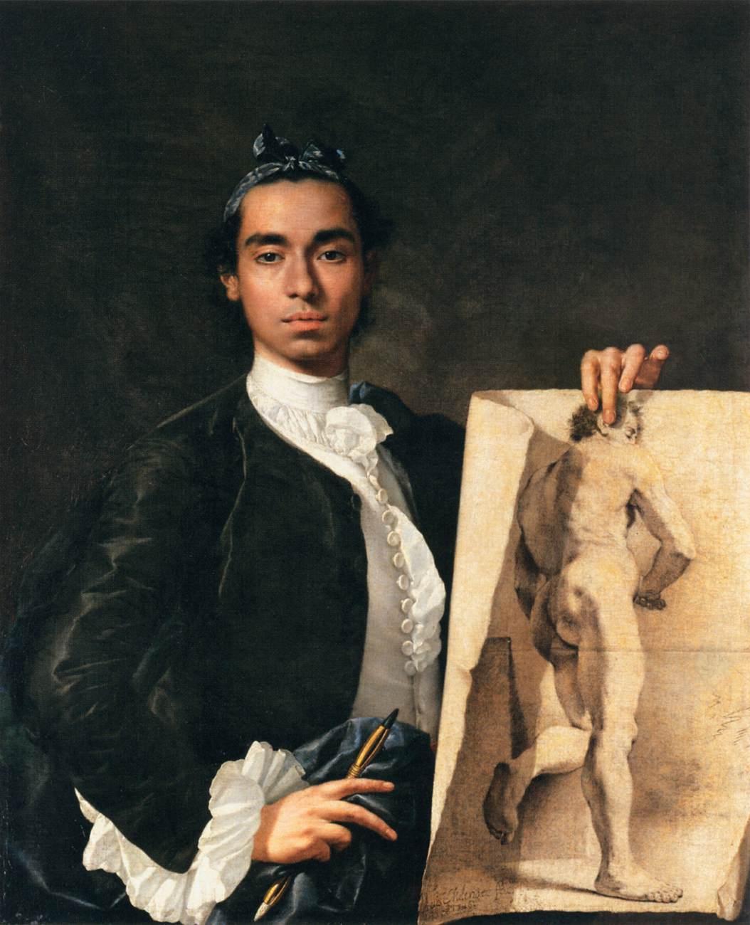 File:Luis Egidio Meléndez - Portrait of the Artist - WGA14751.jpg
