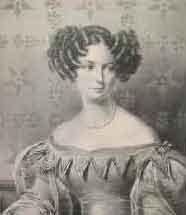 Prinzessin Wilhelmine Luise von Anhalt-BernburgZeichnung von Franz Krüger (1797–1857) (Quelle: Wikimedia)