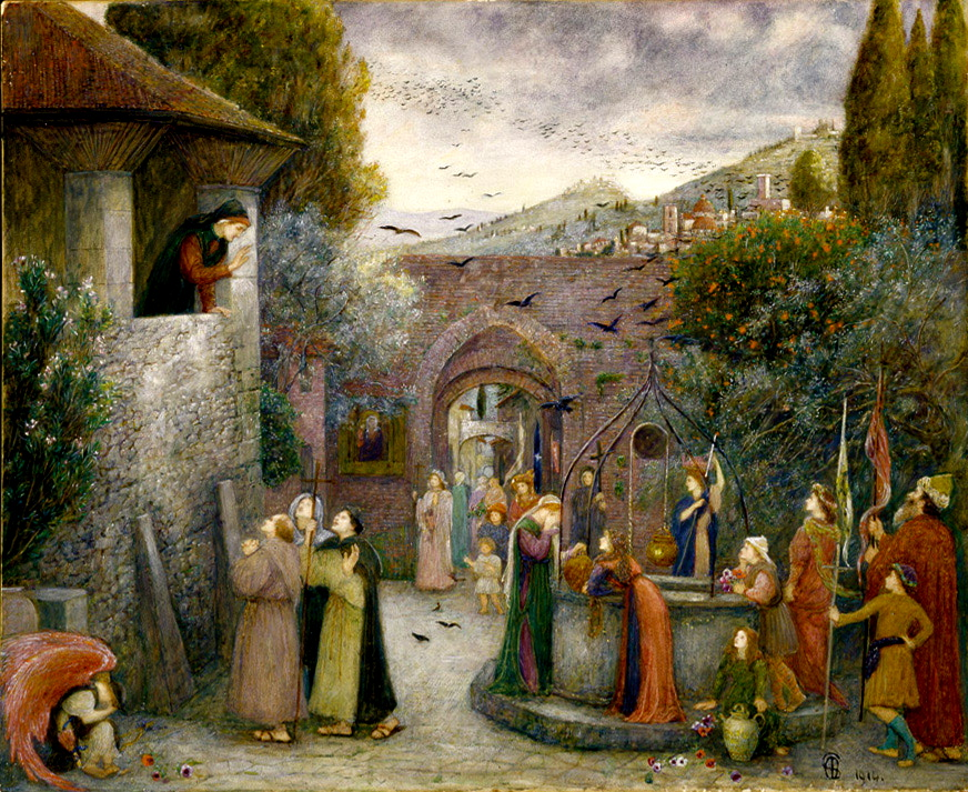 https://upload.wikimedia.org/wikipedia/commons/8/81/Marie_Spartali_Stillman_-_The_Pilgrim_Folk.jpg