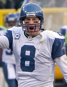 Matt Hasselbeck played as the Seahawks quarterback from 2001–2010 and led the team to six postseason appearances and a Super Bowl appearance.