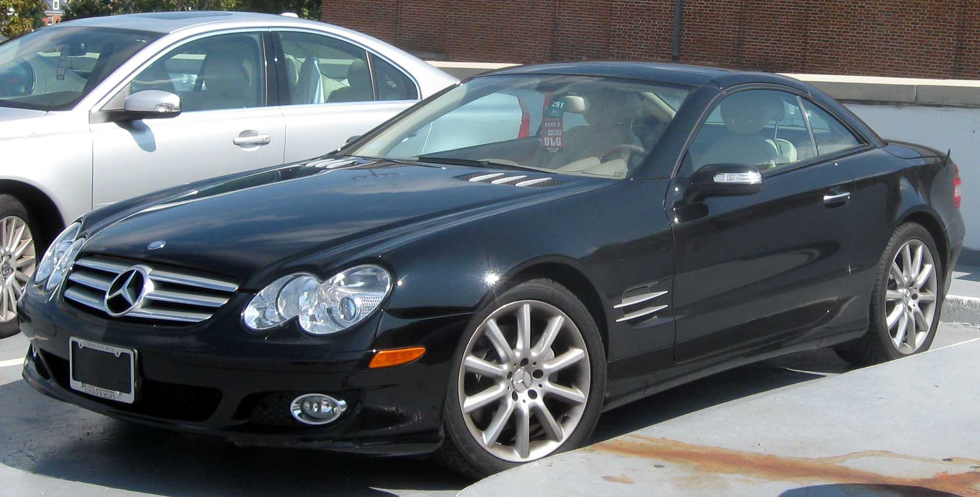 File mercedes benz wikimedia commons for Mercedes benz sl550 for sale