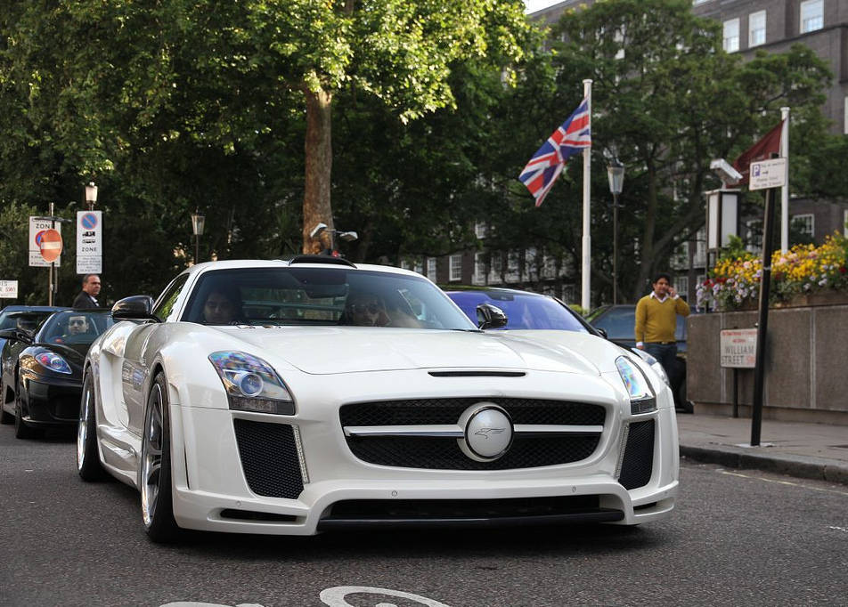 File mercedes benz sls amg fab design london flickr for Mercedes benz london