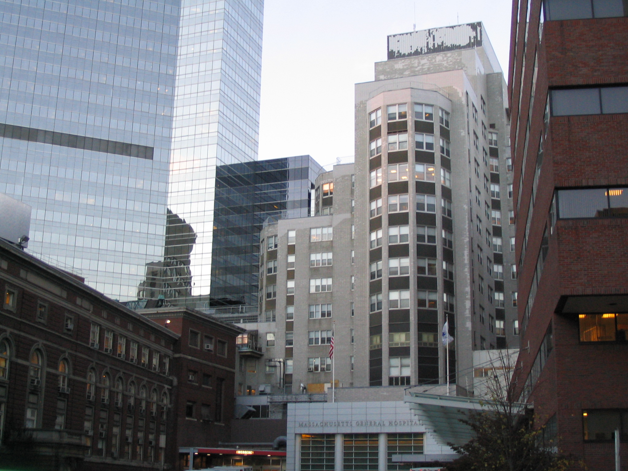 A photo of Massachusetts General Hospital