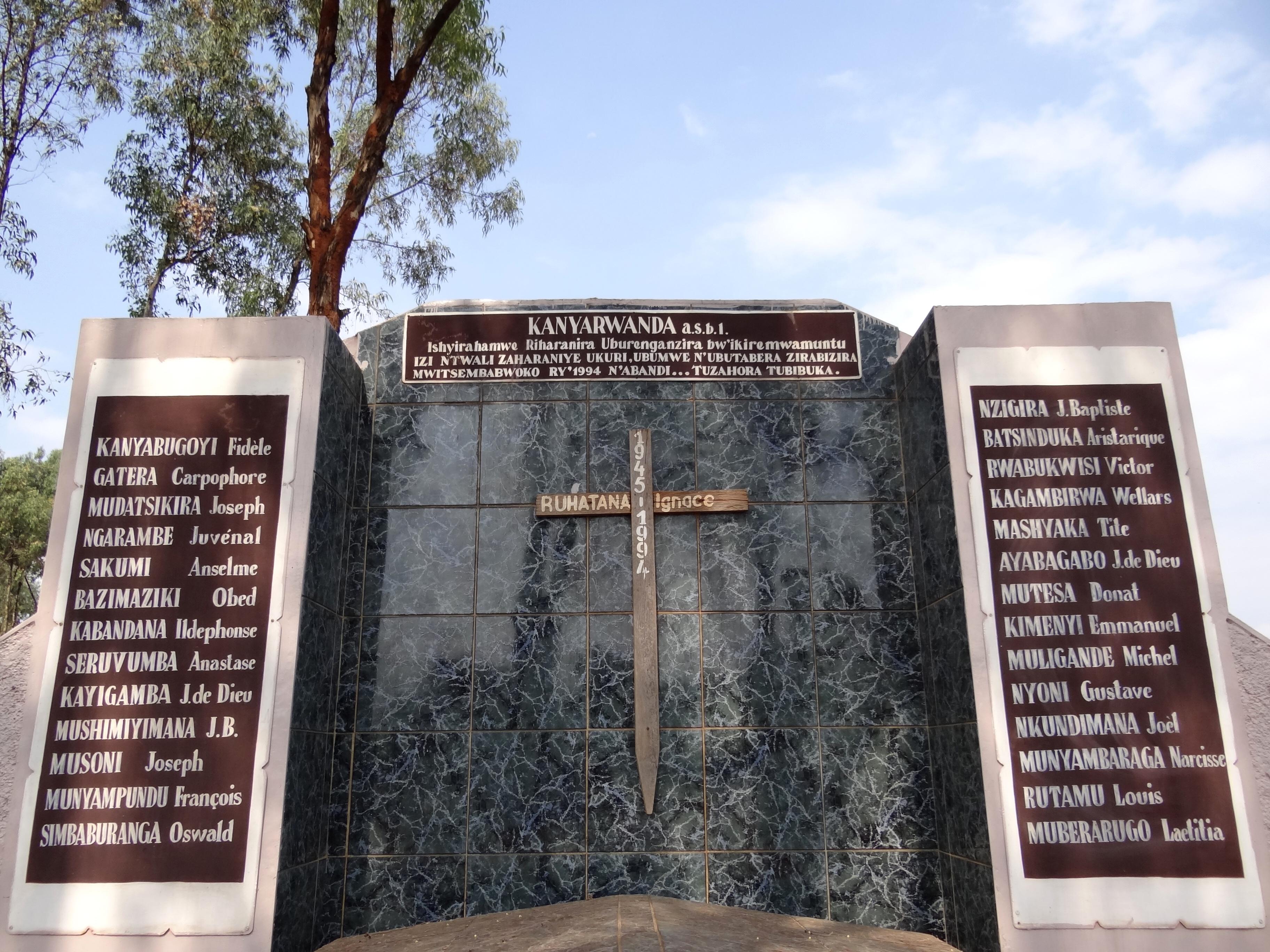 Rwandan genocide memorial