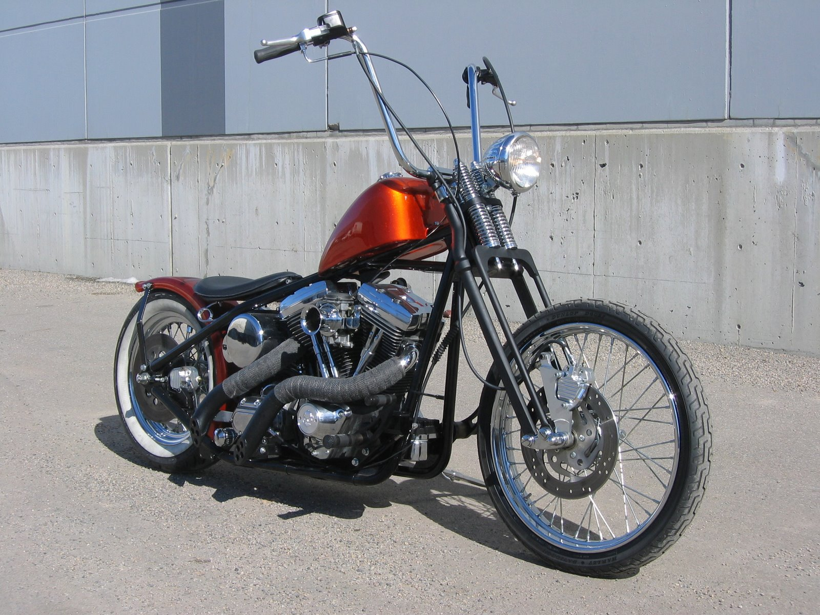 Harley Davidson With An S S Super Stock Engine