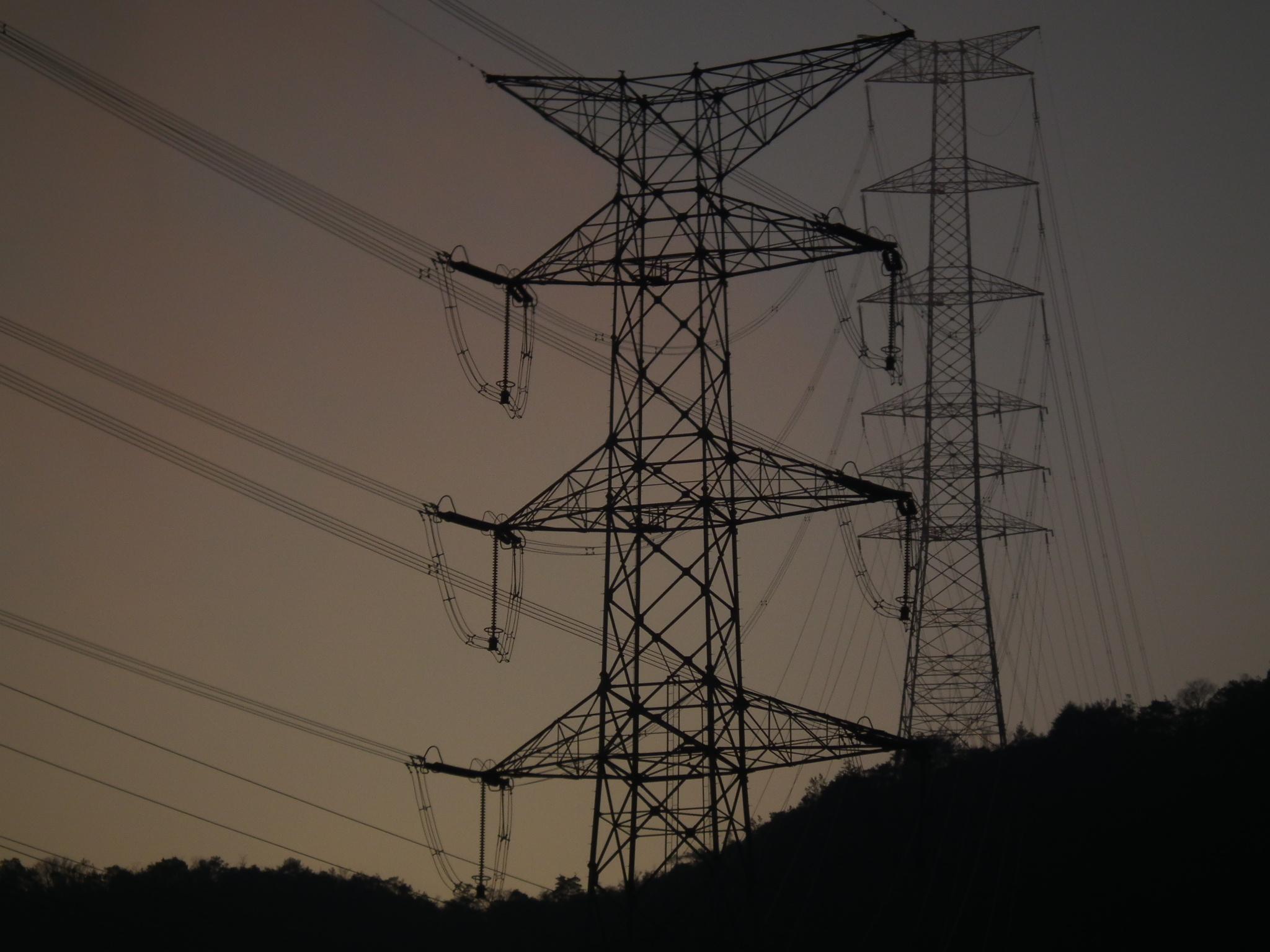 Power Line High Voltage