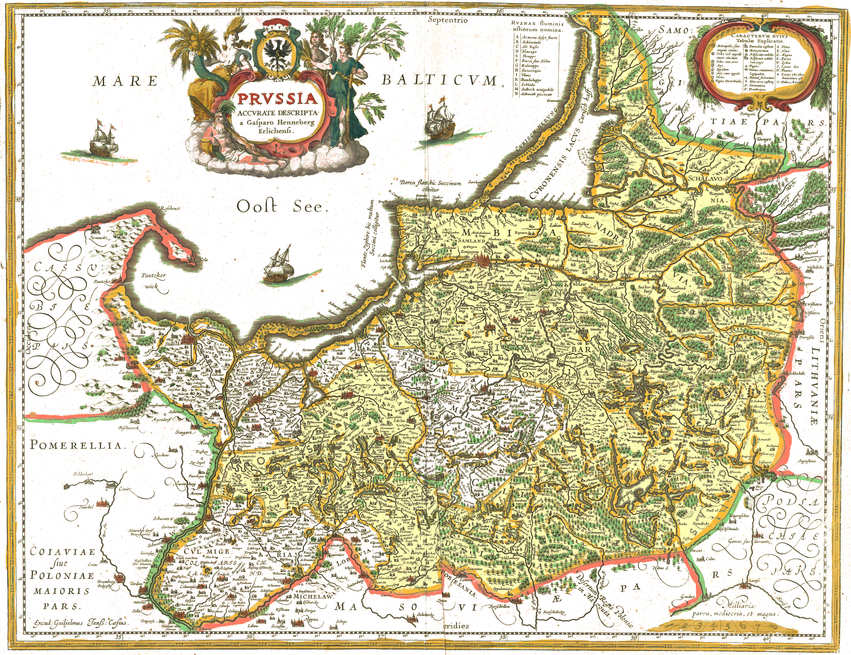 Karte Iran Nachbarlander.Vaizdas Prvssia1576casparo Henneberg Png Vikipedija