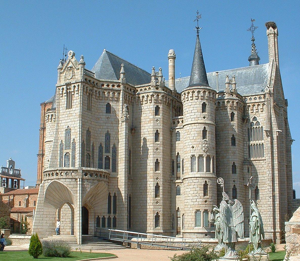 File palacio episcopal de astorga jpg Romanticismo arquitectura