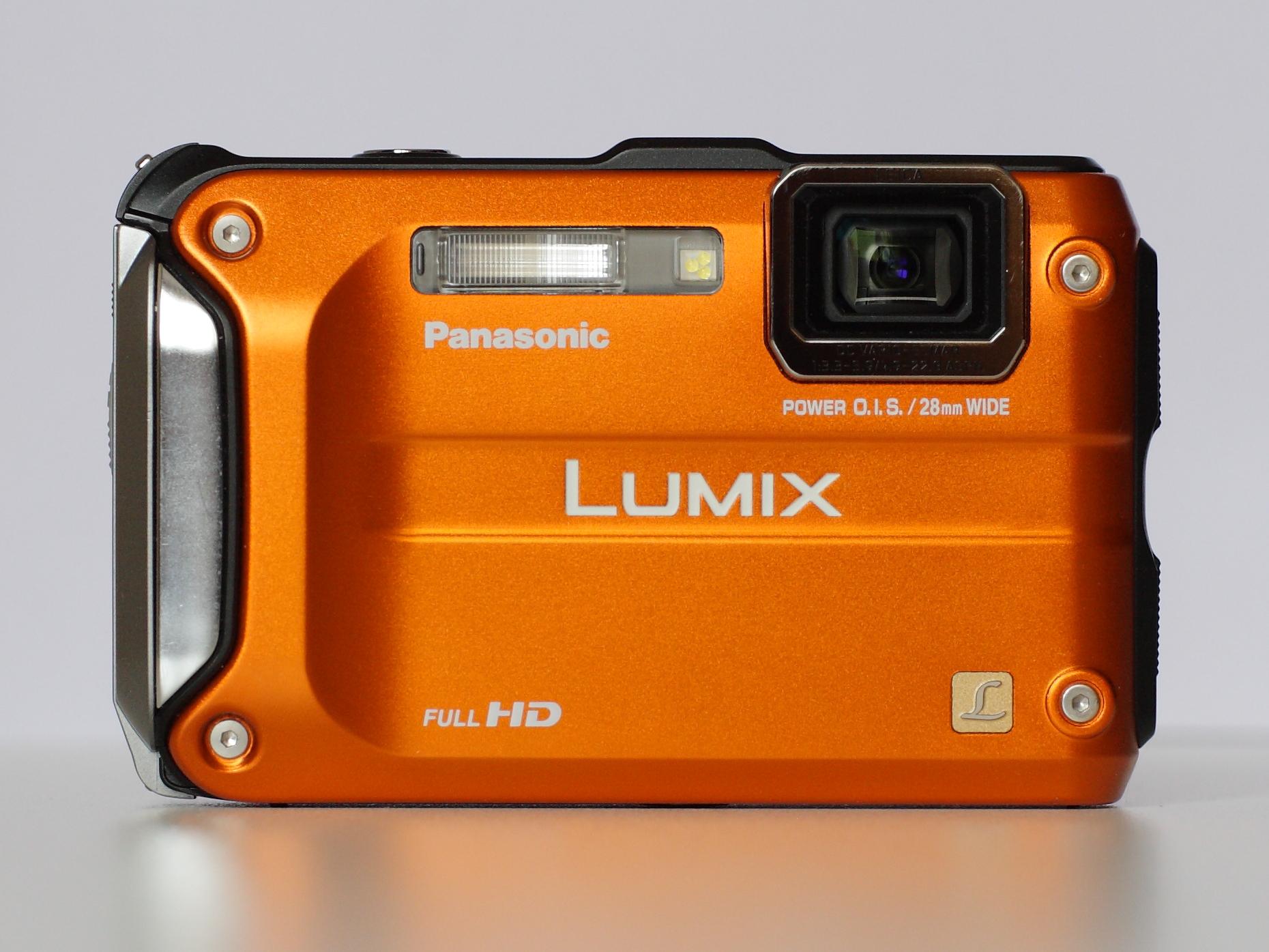 file panasonic lumix dmc ts3 orange front view jpg wikimedia rh commons wikimedia org panasonic lumix dmc tz3 manual Newest Panasonic Lumix Camera