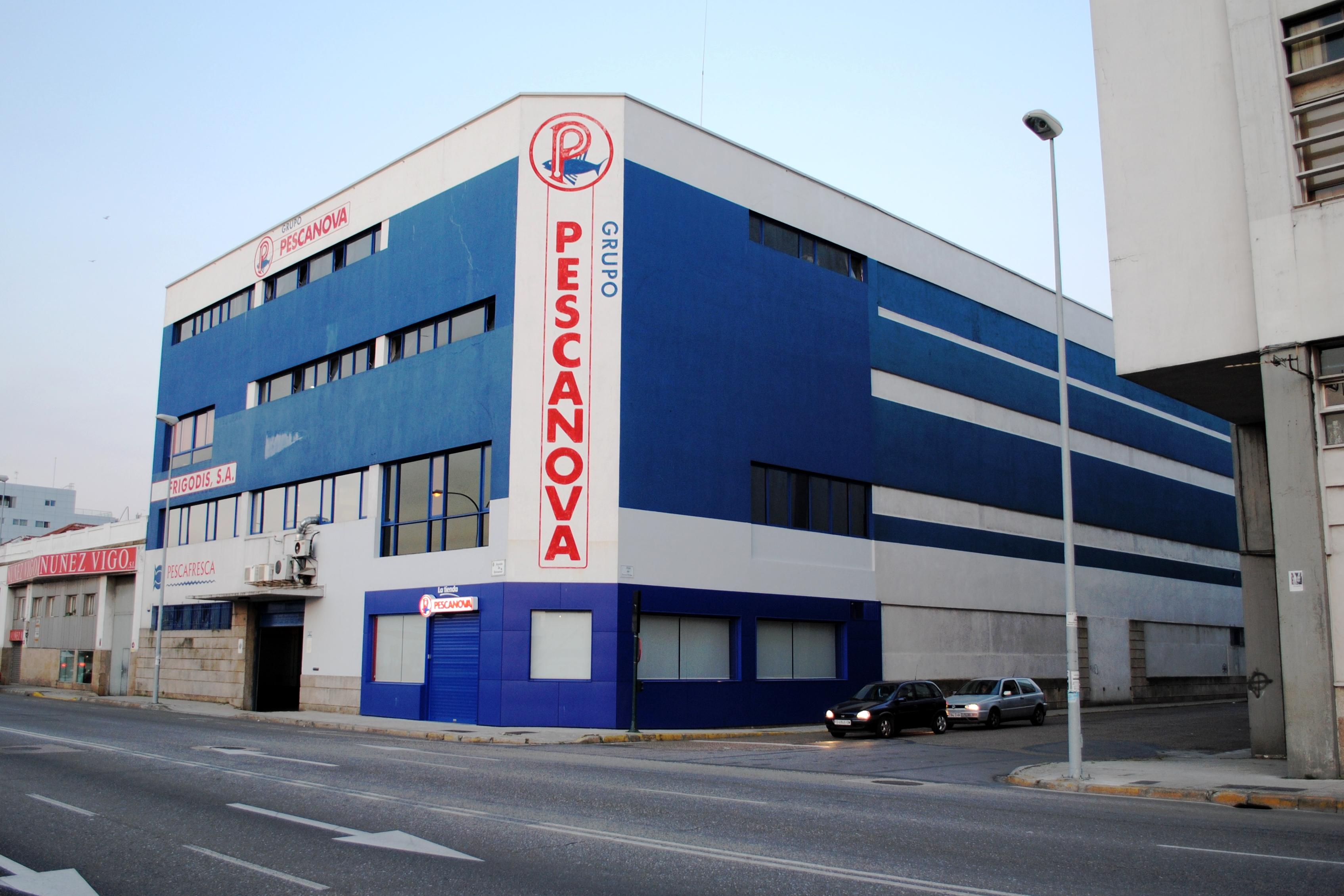 Grupo Pescanova en Vigo.