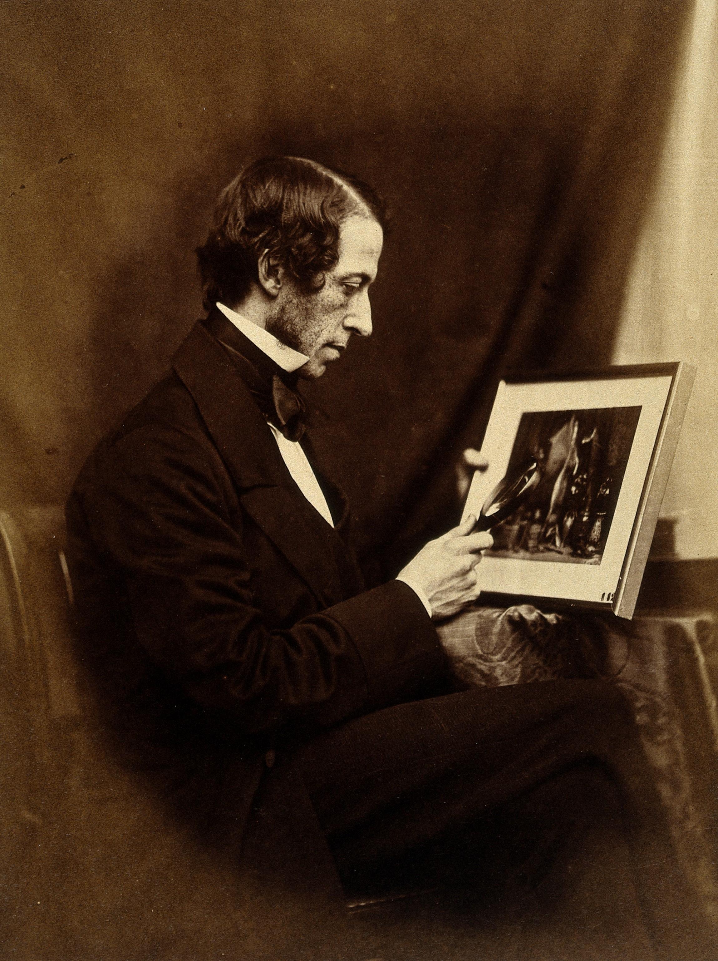 Image of Philip Henry Delamotte from Wikidata