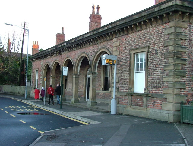 Pocklington railway station