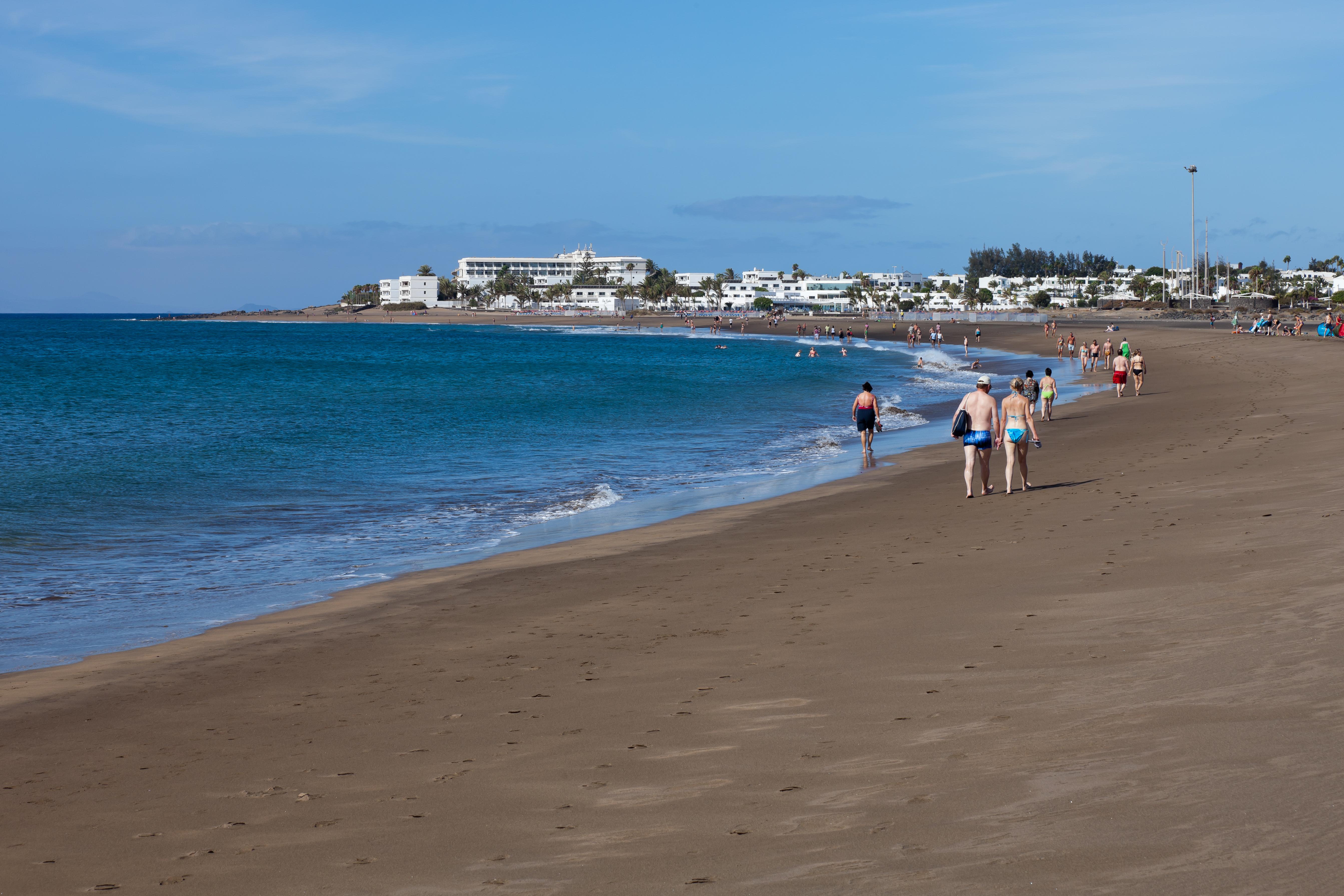 Lanzarote Beach Puerto Del Carmen Puerto Del Carmen Tías