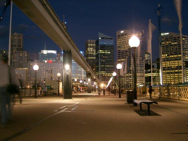 Pyrmont Bridge, Sydney