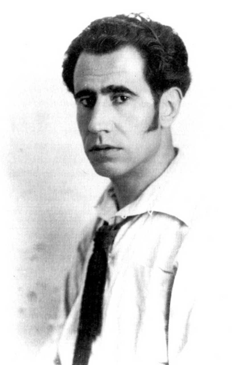 Ramón Acín, artista y anarquista, financió Las Hurdes tras haber sido agraciado con un premio de lotería.