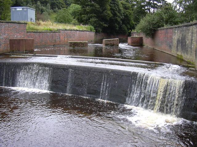 River Calder - geograph.org.uk - 1462584