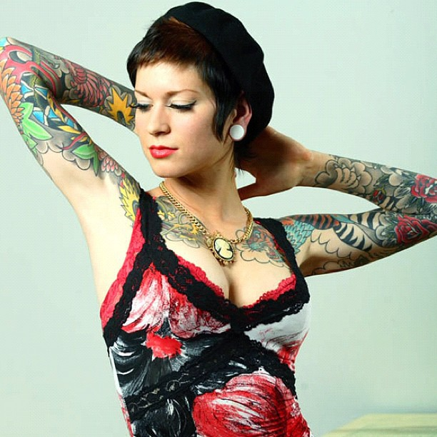 suicide girls tattoos