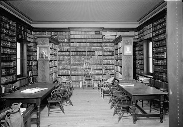 Image result for victorian library black and white photo
