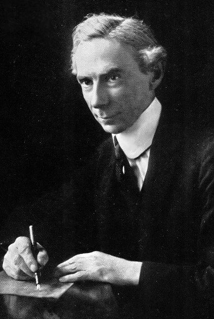 Рассел в 1916 году