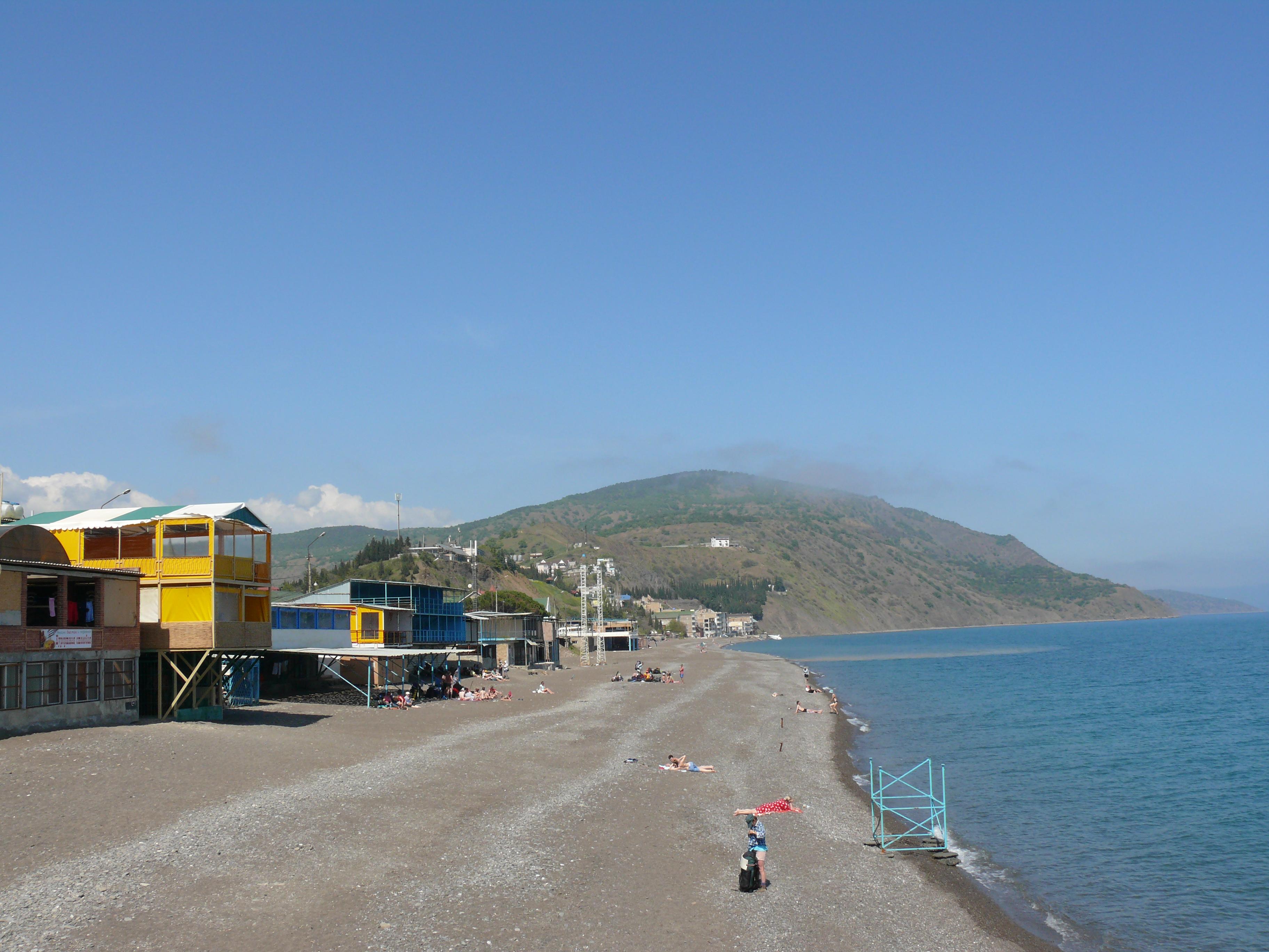 Пляж рыбачье крыма фото