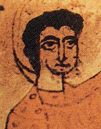 Representación del rostro de Sancho Ramírez de Aragón.