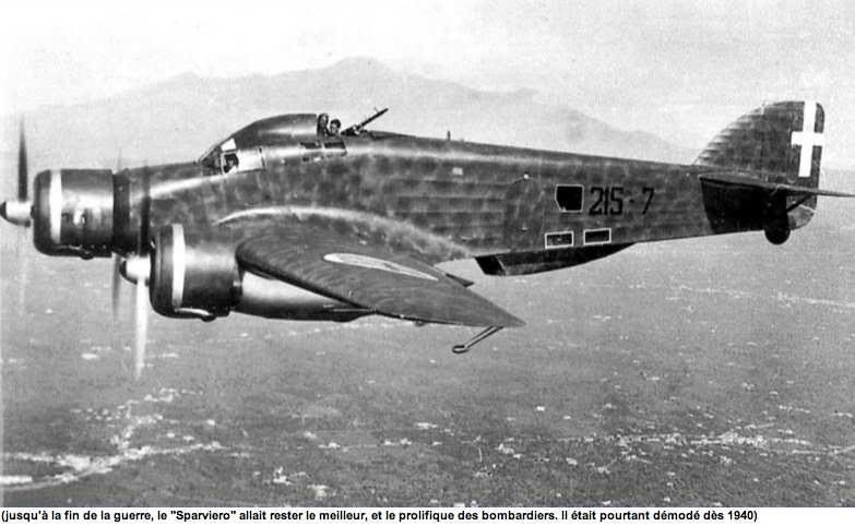 Savoia Marchetti SM 79 Sparviero in volo