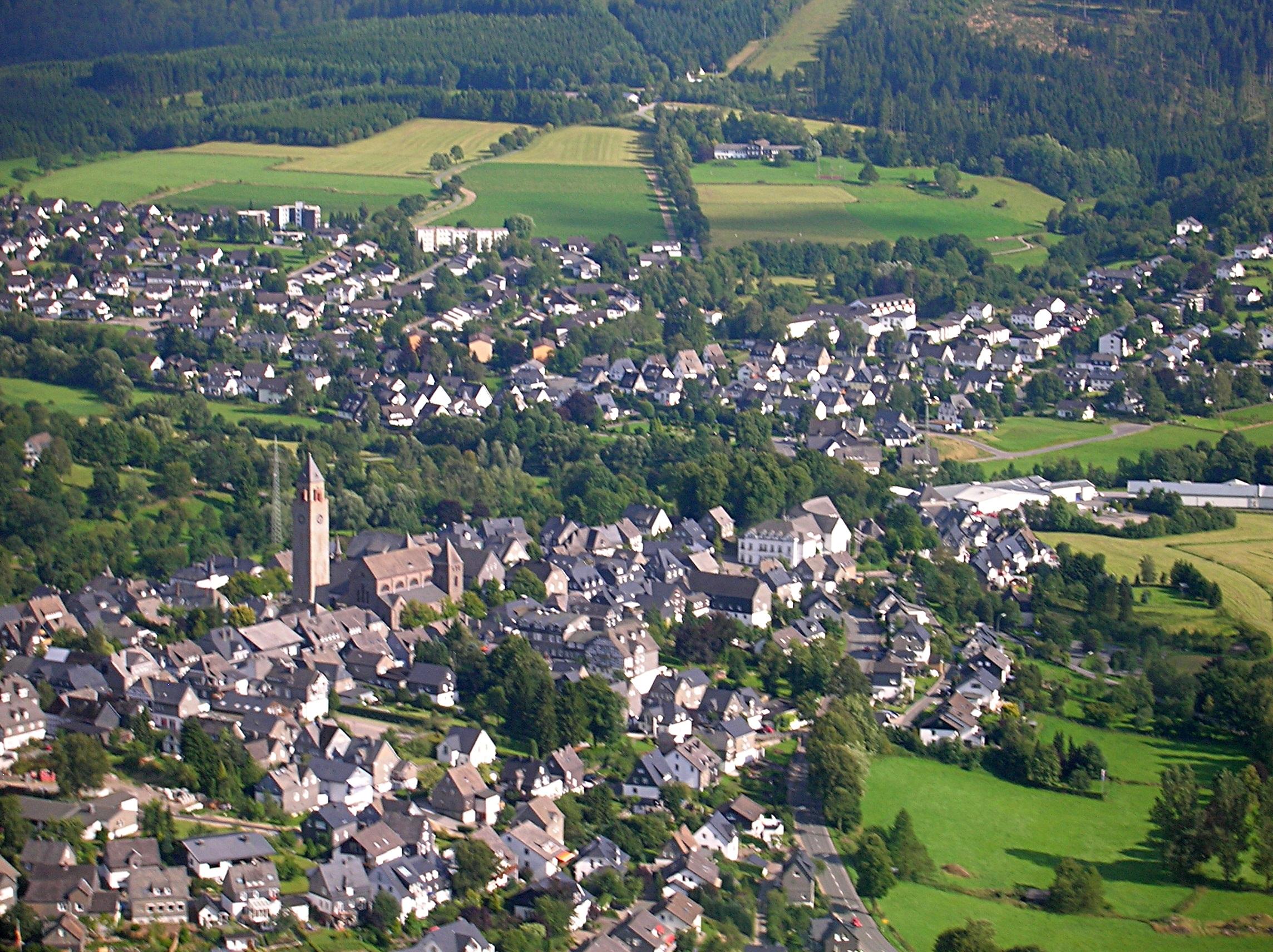 Schmallenberg Germany  city photos gallery : Description Schmallenberg Innenstadt und Unterstadt