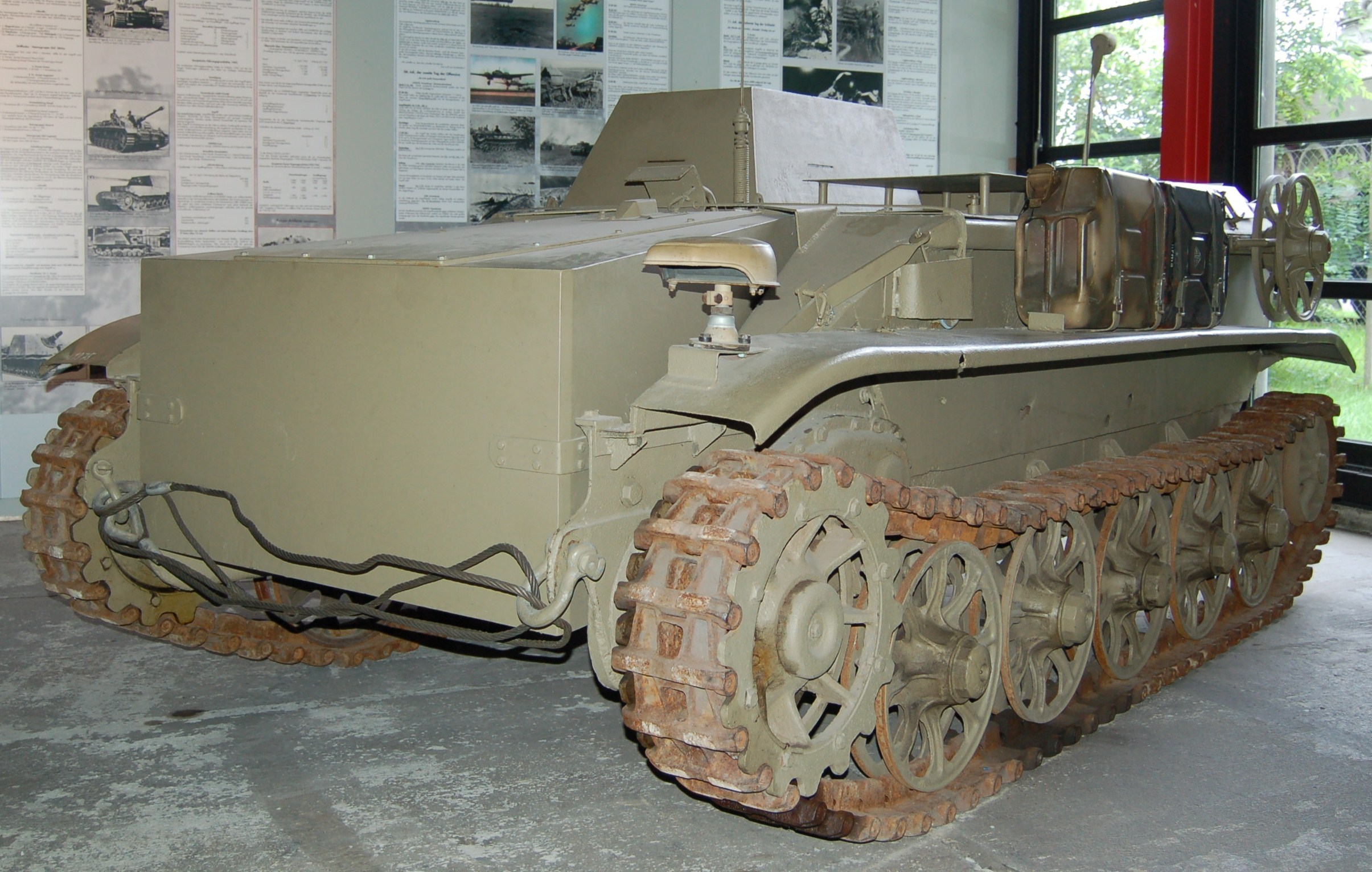 Borgward IV, radio controlled demolition vehicle