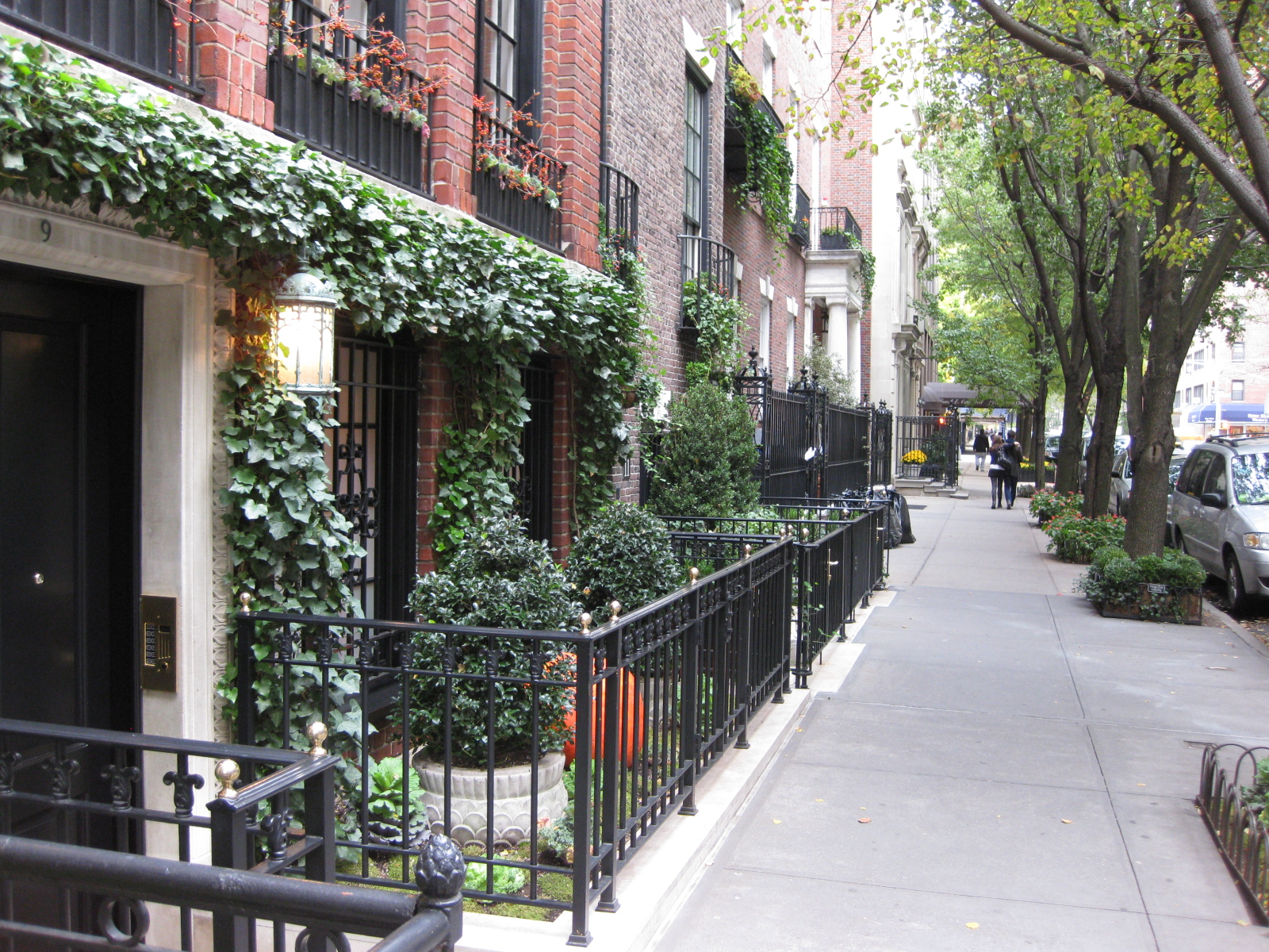 File Sidewalk In Upper East Side Nyc Jpg Wikimedia Commons
