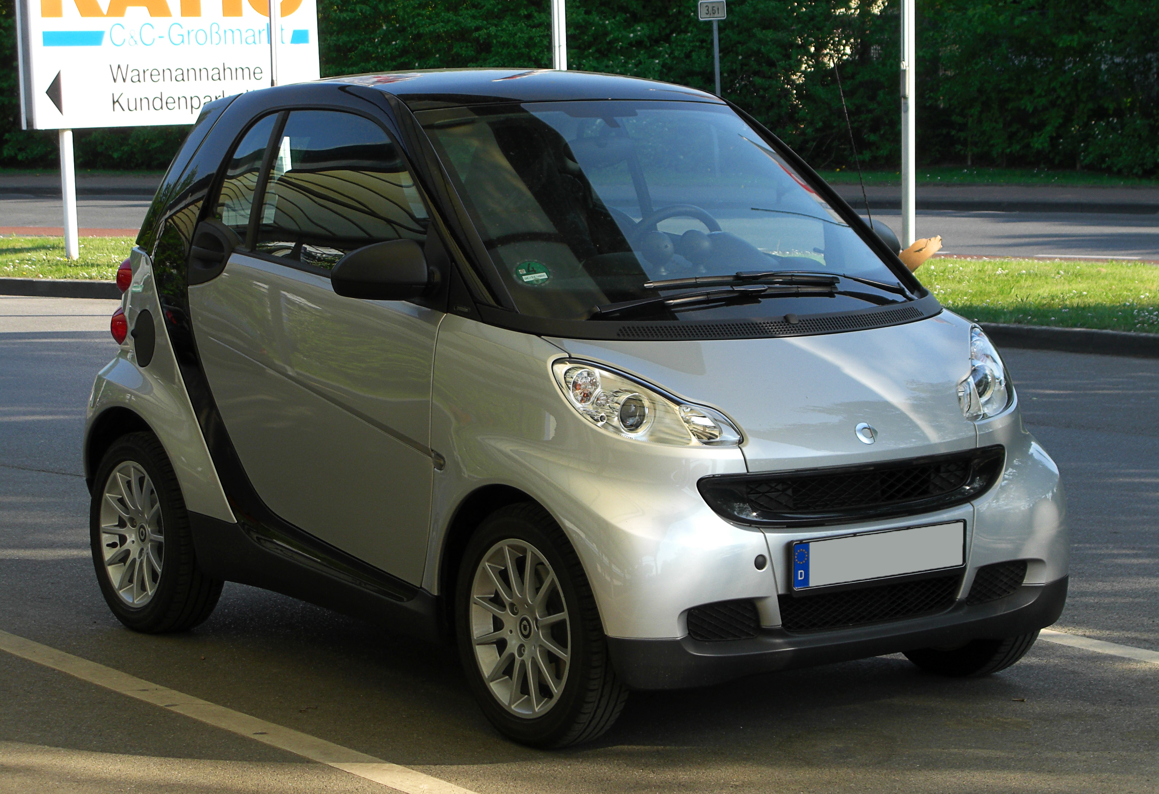FileSmart Fortwo Coupé 10 mhd Passion (451